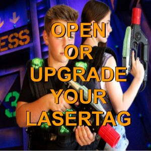 link to lasertag.com for info on purchasing systems